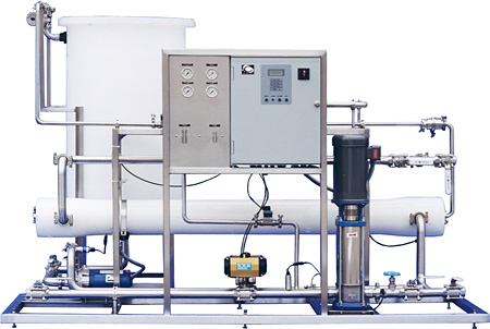 Clearwater Systems Cwro 8040 V Reverse Osmosis System